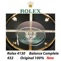 Nuovo Completo New Balance Complete Bilanciere Rolex 4130 Codice 432 Original