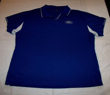 Ford Motor Company Embroidered Blue Polo Shirt Women's Large/Wide Tri-Mountain