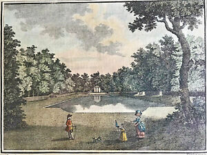 19th Century Engraving | The Canal at Gubbins| Hertfordshire| 150+ Years Old