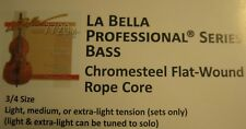 LaBella 7720 Rope Core Upright Bass Strings