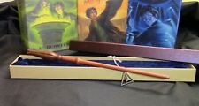 Harry Potter - Luna Lovegood 2nd Wand w/ Free Deathly Hallow Necklace