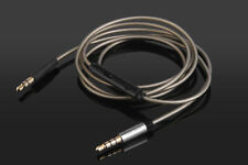 Silver Plated Audio Cable with Mic For FOCAL SPIRIT ONE/ ONE S/Classic headphone
