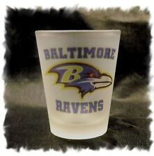 Baltimore Ravens Frosted  Shot Glass