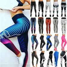 Ladies Women Yoga Pants Fitness Leggings Running Gym Exercise Sports Trousers