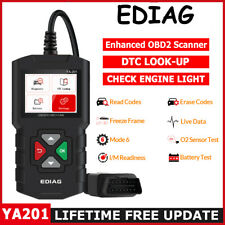OBD2 Scanner Check Engine Fault Code MIL Car Diagnostic Tool OBDII Code Reader