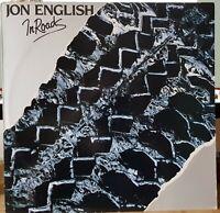 Jon English – In Roads - 1981 LP record excellent + lyric insert
