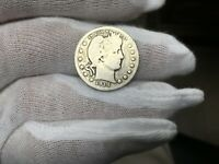 1914-D Silver Barber Quarter AVERAGE CIRCULATED SEE PICS
