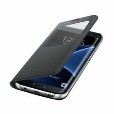 Samsung S View Étui à Rabat Noir pour Galaxy S7 edge