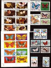 All COUNTRIES Blocks and stamps : all kinds of butterflies SP54
