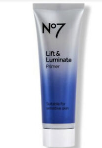 NEW No7 Lift & Luminate Primer 30ml-Suitable for Sensitive Skin FREE POSTAGE