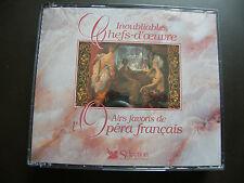 """COFFRET 3 CD INOUBLIABLES CHEFS-D'OEUVRE """"Airs favoris de l'Opéra Français"""""""