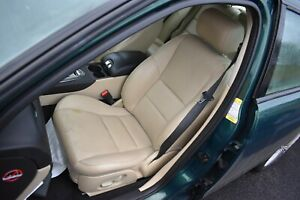 2006 JAGUAR S TYPE PASSENGERS SIDE FRONT ELECTRIC SEAT - CREAM LEATHER