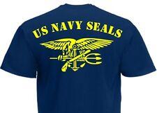 T-Shirt US Army Navy Seals Rückendruck! Anchor & Eagle USMC Marines Gr S-XXL