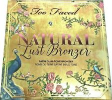 Too Faced Natural Lust Bronzer Satin Dual-Tone Bronzer 0.63 Oz / 18 g Brand New!