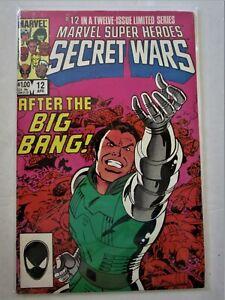 "Comics Marvel Super Heroes "" SECRET WARS ""  # 12  en V.O 1986"