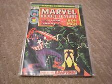 Marvel Double Feature #6 (1974 Serie) Marvel Comics Iron Man, Capt America FN/VF