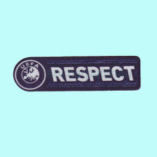 UEFA Respect 2009-2011 Sleeve Soccer Patch / Flock Football Badge