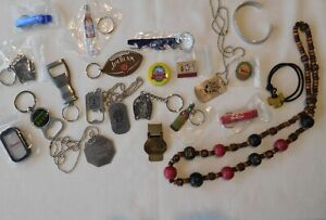 20 pc Breweriana Bottle Openers, Key Chains, misc