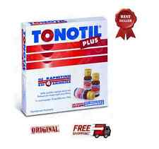 TONOTIL PLUS -  Best  Food Supliment With Carnitine and 4 Amino Acids  10x10ml