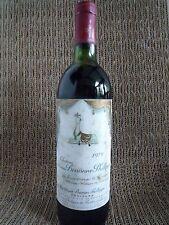 Eine Flasche Château Mouton Baronne Philippe Rothschild 5ème Cru Classé 1979