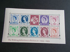 GB QEII 2003 Wilding Collection Miniature Sheet II MS2367 Cat £10 Superb M/N/H