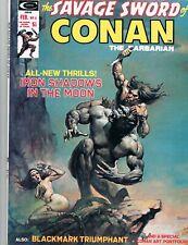 SAVAGE SWORD OF CONAN #4  (1974 MARVEL)   BORIS VALLEJO COVER