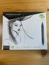 Prismacolor Premier Marker Set 12 French Grey Gray