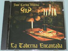 JOSE Carlos Molina Ñu-La Casa Encantada-Raro'97 fuera de producción Cd Español Prog Menta