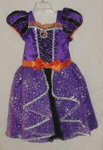 EUC Disney Store Girls MINNIE MOUSE WITCH Halloween Costume Size 4