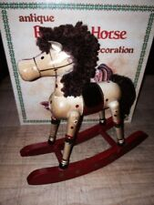 Rocking Horse Ornament by Russ  #2855 Red NIB