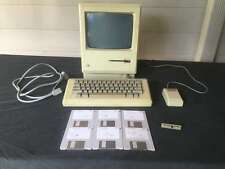 Original 1985 Macintosh 512k M0001W Complete System - Tested Working & Serviced!