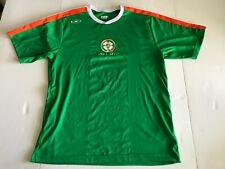 Ireland Landsdowne Rd Rugby Jersey Size Large L Xara Green White Orange