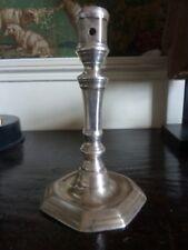 Bougeoir Haute Epoque en bronze argenté XVII°/XVIII°siècle