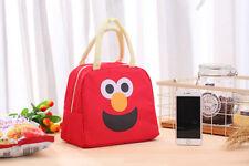 Sesame Street Cartoon thickening insulation bag, outdoor hand carry bag