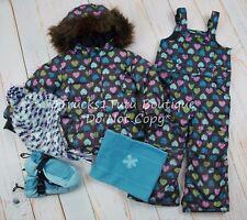 Baby Gap/Lands End Winter Coat Snowpants Mittens Hat Neckwarmer Set 3T VGUC