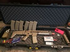 Tokyo Marui NGRS SCAR-L Airsoft AEG Fully Upgraded w/ Extras