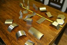 huge set of Stainless  grade 304 glass offcuts slumping moulds all shapes