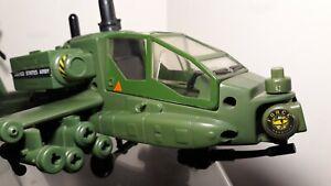 Trendmasters 1998 Godzilla Apache Attack Copter - Rare Item - Helicopter