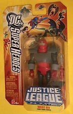"""Rocket Red JUSTICE LEAGUE UNLIMITED 4.5"""" action figure DC Universe JLU MATTEL"""