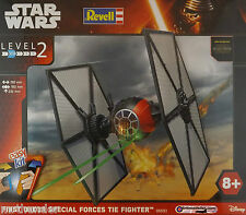 Star Wars: First Order Special Force Tie Fighter Kit Revell 1:35 Scale Level 2