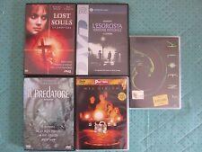 Lotto 5 Film in Italiano in Dvd Horror e action