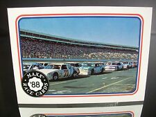 Great Body Maxx Race Cards 1988 Card #99 Inaugural Set Chevrolet Monte Carlo SS