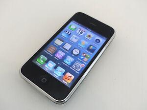 Apple iPhone 3GS 8GB Schwarz (Ohne Simlock) A1303 im Karton gebraucht #EDG