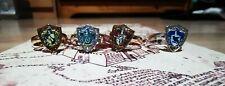 Harry Potter House Rings - Set of 4 - GryffindorHufflepuffRavenclawSlytherin