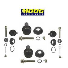 Chevrolet Blazer K10 K20 4WD Set of 2 Front Lower and Upper Ball Joints Moog