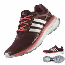 adidas Energy Boost 2 ATR Damen Laufschuhe B23151 maroon/chalk white/flash/red