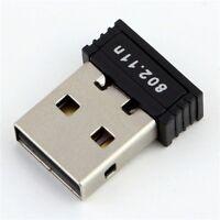 Mini 802.11n 11 b/g/n  Wifi Wireless Usb Adapter Lan Card Network Dongle 150Mbps