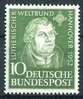 Bund 149 ** sauber postfrisch BRD Martin Luther 1952 MNH