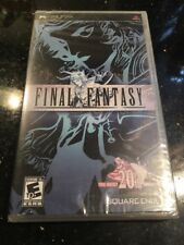 Final Fantasy 20th Anniversary Black Label Sealed Sony PSP New Factory Sealed