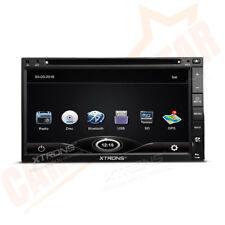 "6.95"" Double 2 DIN Car DVD Player Stereo Radio GPS SAT NAV Bluetooth RDS USB SD"